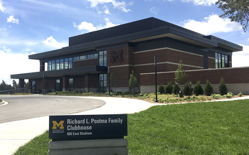 Richard L. Postma Family Clubhouse